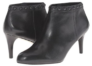 Coach A00310 Holiday Soft Shine Leather Black Boots