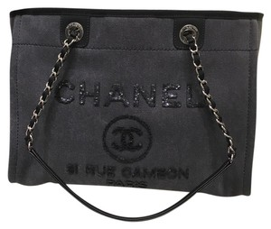 Chanel Tote in Charcoal