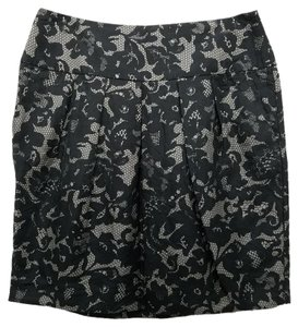 Banana Republic Skirt Black and Beige