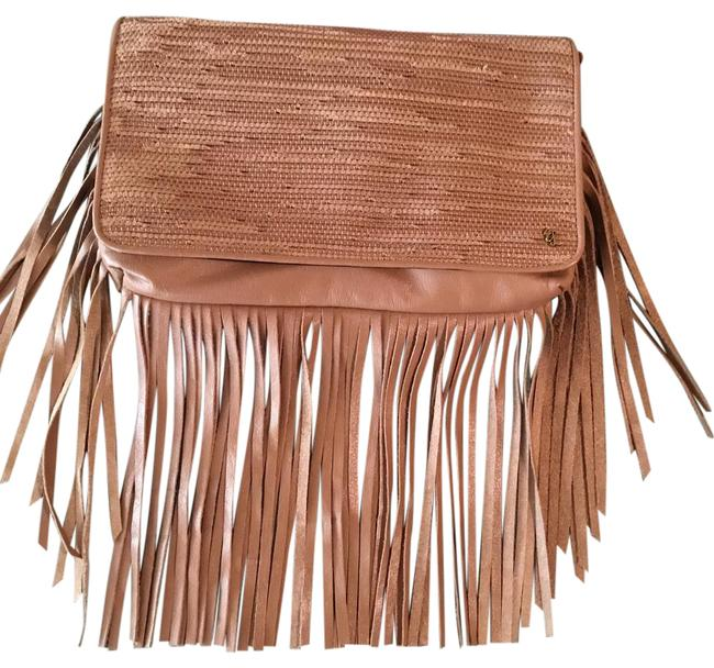 Elliott Lucca Bali Collection Caramel Leather Shoulder Bag Elliott Lucca Bali Collection Caramel Leather Shoulder Bag Image 1