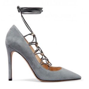 Valentino Gray Pumps