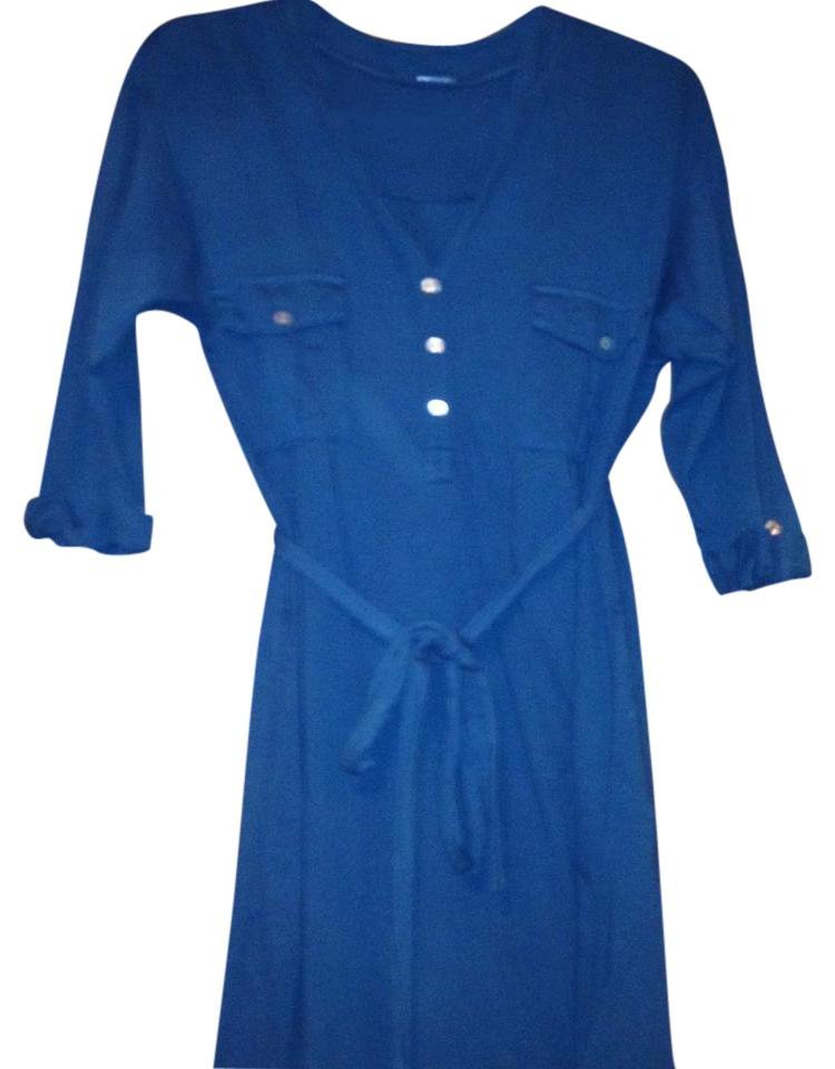 fed2e9447721 ECI New York Teal The Perfect Comfy Short Work Office Dress Size 8 ...