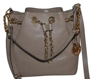 Michael Kors dark taupe Messenger Bag