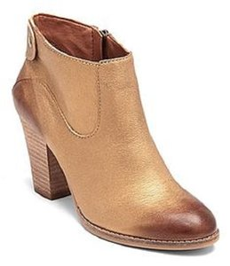 Lucky Brand Gold Boots