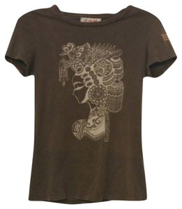 Anoname T Shirt Brown