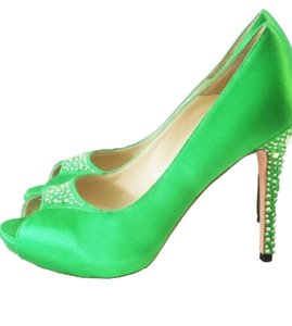 Alexander McQueen Green Formal