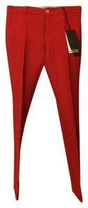 Gucci Flare Pants hibiscus red