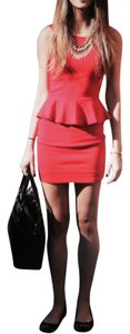 Alice + Olivia short dress Red on Tradesy
