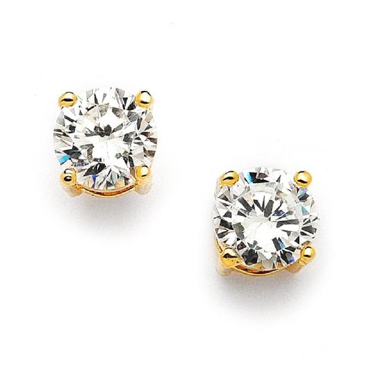 Preload https://img-static.tradesy.com/item/20567797/mariell-gold-8mm-round-cubic-zirconia-stud-708e-cr-g-earrings-0-0-540-540.jpg