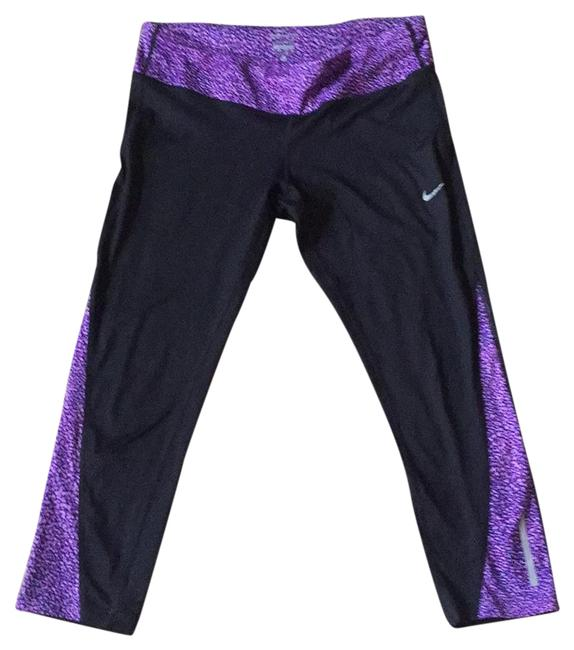 Preload https://item5.tradesy.com/images/nike-black-and-purple-dry-fit-activewear-capriscrops-size-12-l-20567799-0-1.jpg?width=400&height=650