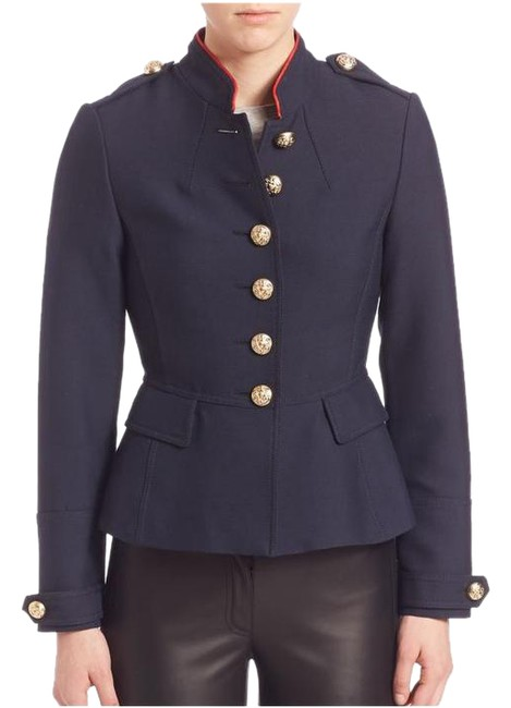 Preload https://item5.tradesy.com/images/burberry-brit-ink-blue-huntingdale-military-button-jacket-in-pea-coat-size-4-s-20567809-0-1.jpg?width=400&height=650