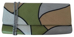 Carlos Falchi Multi Colored Clutch