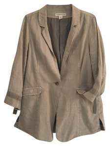 Anthropologie/ Marrakech Linen tan Blazer
