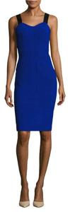 Pure Navy Bodycon Cocktail Bandage Desk To Dinner Dress