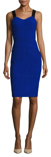 Preload https://img-static.tradesy.com/item/20567862/royal-blue-seamed-front-bodycon-mid-length-cocktail-dress-size-4-s-0-1-650-650.jpg