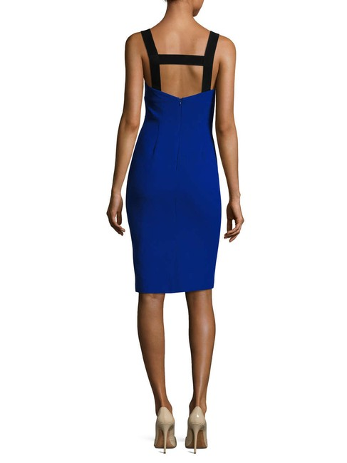 Pure Navy Bodycon Bandage Desk To Dinner Dress