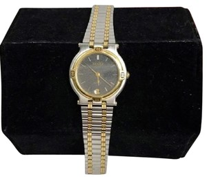 Gucci GUCCI Vintage Two Tone Stainless & Goldtone Watch!