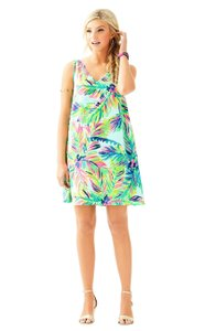 Lilly Pulitzer short dress Green/Blue/Multi - Multi Island Time on Tradesy