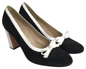 Salvatore Ferragamo black & white Pumps