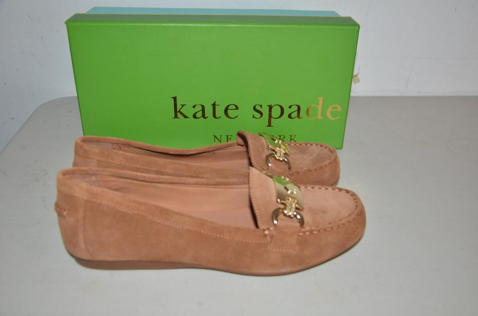 4e513ea3165 Kate Spade Tobacco Brown Carson Loafer Sport Suede Flats Size US 7.5 ...