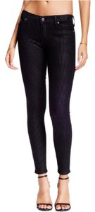 True Religion Houndstooth W 27 Halle Skinny Jeans