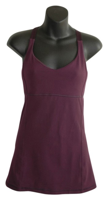 Preload https://item3.tradesy.com/images/lululemon-purple-satin-strap-cross-back-luon-activewear-top-size-6-s-28-20567967-0-1.jpg?width=400&height=650