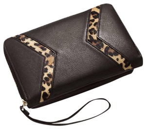 SILPADA Designs Wristlet in black animal print pony hair