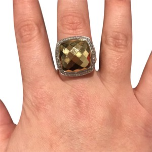 David Yurman David Yurman Albion Ring with Gold Dome and diamonds