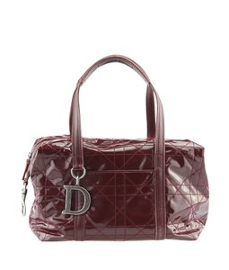 Dior Patent Leather Shoulder Bag