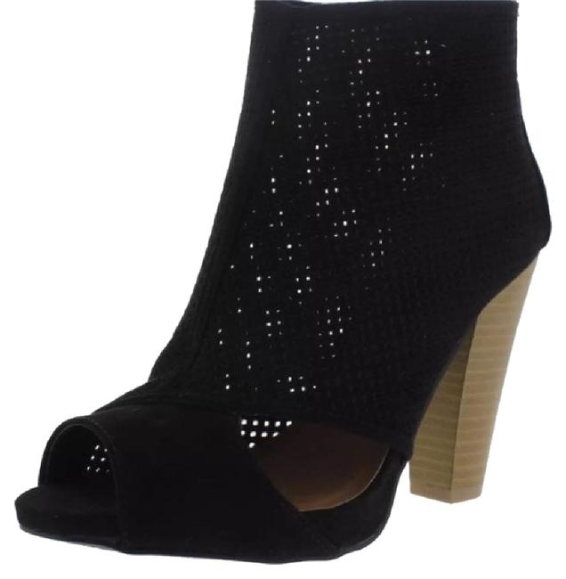 Qupid Black Bailey Boots/Booties Size US 7.5 Regular (M, B) Qupid Black Bailey Boots/Booties Size US 7.5 Regular (M, B) Image 1