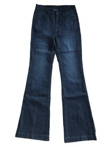 Koral Trouser/Wide Leg Jeans-Medium Wash