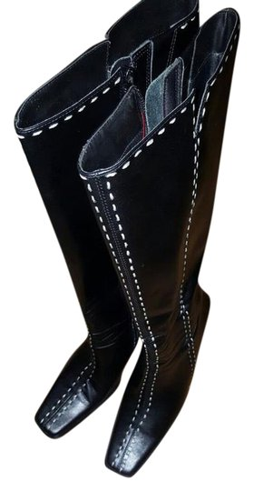Preload https://item1.tradesy.com/images/diba-black-new-vintage-leather-knee-high-contract-stiching-bootsbooties-size-us-7-regular-m-b-20568270-0-2.jpg?width=440&height=440