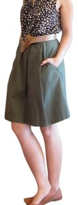 Max Studio Skirt army olive green