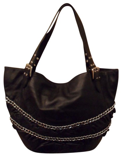 Preload https://item5.tradesy.com/images/betsey-johnson-black-leather-tote-20568539-0-1.jpg?width=440&height=440