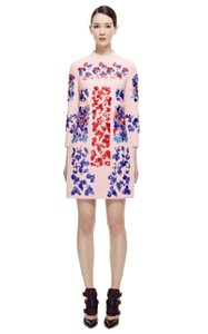 Peter Pilotto Beaded Embellished Runway Wool Night Out Dress