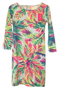 Lilly Pulitzer short dress Multi Neon Vacation on Tradesy