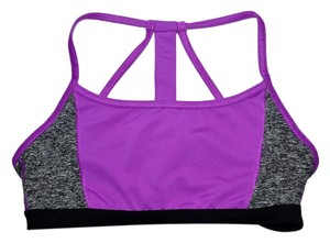 Athleta Running Wild Sports Bra Tank Purple