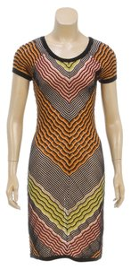 Missoni short dress Brown/Multicolor on Tradesy