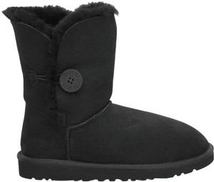 UGG Australia Bailey Button 5803 Black Boots