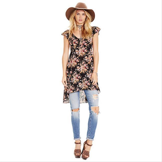 Preload https://img-static.tradesy.com/item/20568690/denim-and-supply-black-multi-ralph-lauren-floral-flutter-high-low-short-casual-dress-size-6-s-0-0-650-650.jpg
