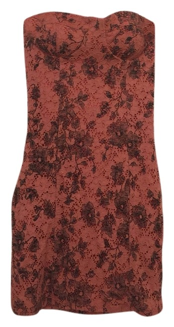 Preload https://item5.tradesy.com/images/mystic-coral-and-black-short-casual-dress-size-4-s-2056874-0-0.jpg?width=400&height=650