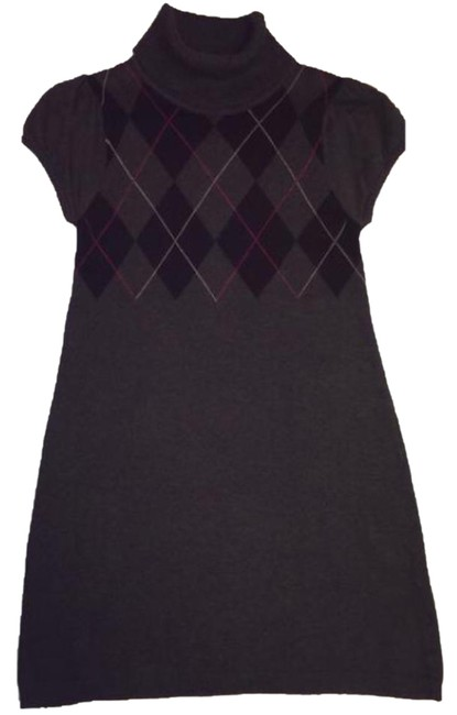 Preload https://item3.tradesy.com/images/sweater-project-argyle-print-mid-length-short-casual-dress-size-4-s-20568742-0-3.jpg?width=400&height=650