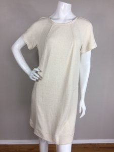 Tibi short dress Biege on Tradesy