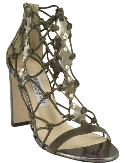 Preload https://item1.tradesy.com/images/jimmy-choo-green-leather-tickle-strappy-100mm-heel-caged-knot-sandals-size-us-8-regular-m-b-20568835-0-1.jpg?width=440&height=440
