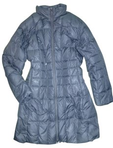 Lands' End Goose Down Quilted 2-way-zip Machine Washable Coat