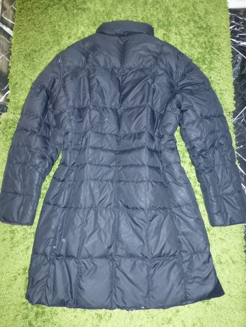 Lands' End Goose Down Quilted 2-way-zip Machine Washable Puffer Coat