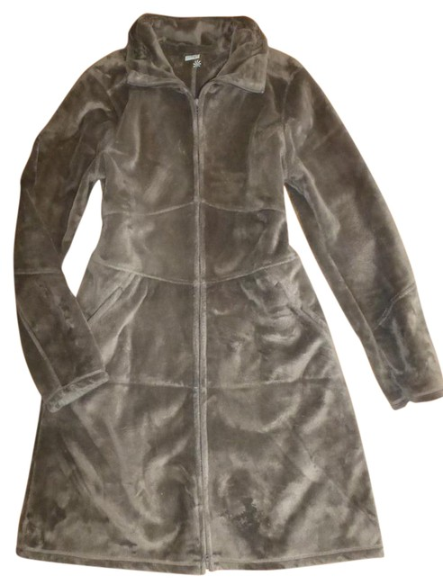 Preload https://item3.tradesy.com/images/athleta-taupe-minka-minka-plush-loafted-fleece-jacket-trench-coat-size-12-l-20568872-0-2.jpg?width=400&height=650