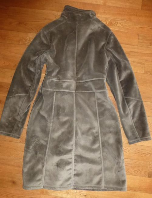 Athleta Minka-minka Loafted Fleece 2-way-zip Trench Coat