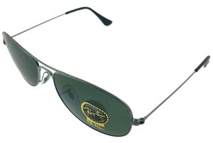 Ray-Ban RB3362-004 Cockpit Men's Gunmetal frame Green Lens Genuine Sunglasses