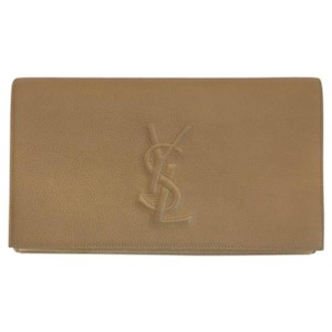 Saint Laurent beige Clutch